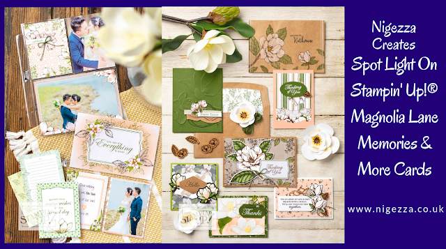 Nigezza Creates, Stampin' Up!  Magnolia Lane Memories & More Cards