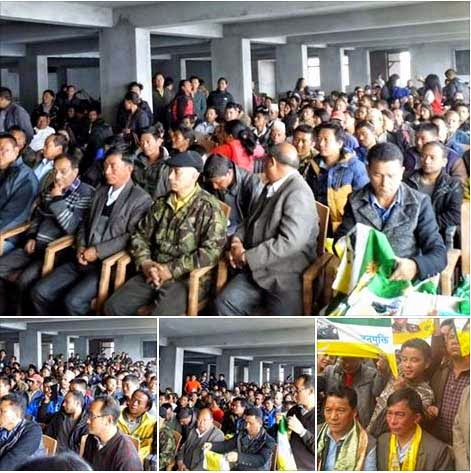 468 families from Sukhia Manebhanjang constituency joined GJM