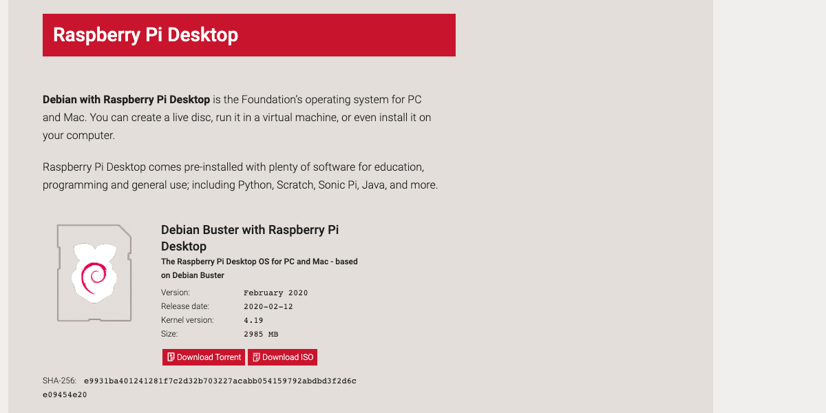 Come installare Raspbian su PC