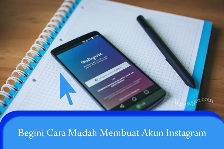 Cara Membuat Akun instagram di H