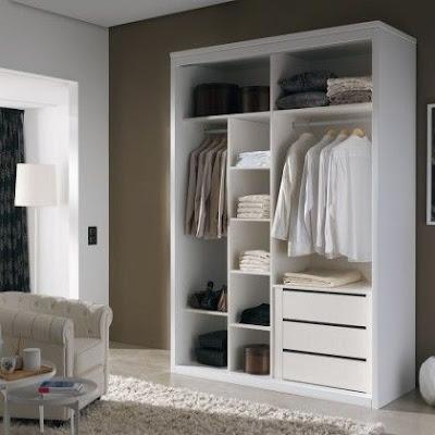 Cara Memilih Model Lemari Pakaian Untuk Ruangan Kecil