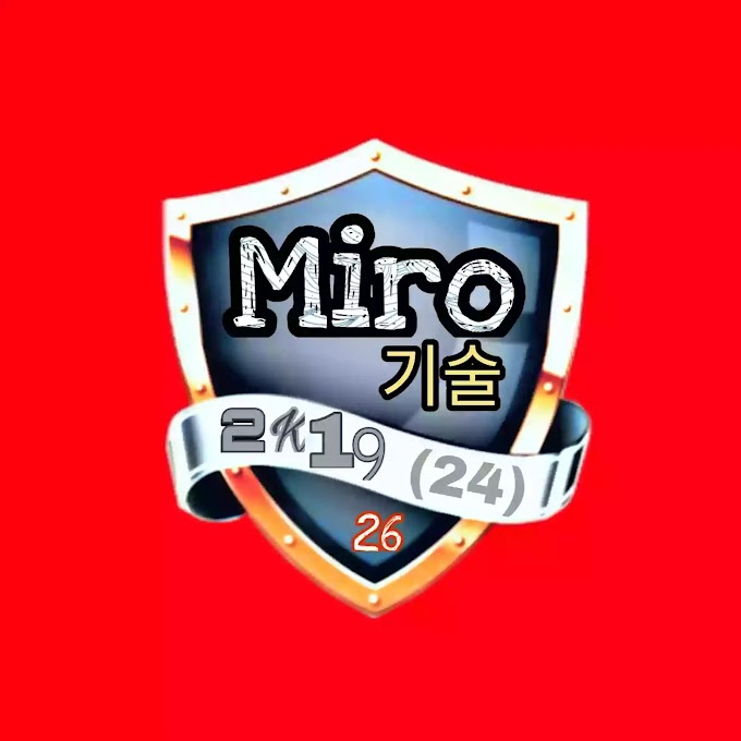 A Facebook page is called Miro 기술 !!!