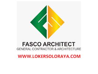 Lowongan Kerja Solo Pengawas Lapangan/ Pelaksana Proyek di Fasco Architect