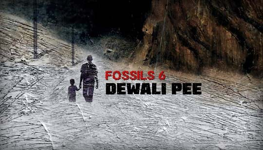 Dewali Pee Song Lyrics by Rupam Islam from Fossils 6 Bengali Album