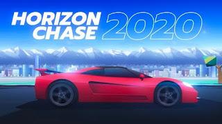 تحميل لعبة Horizon Chase مهكرة APK