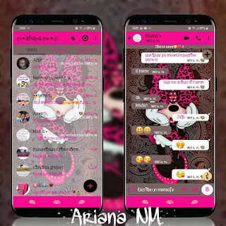 Minnie Cute Theme For YOWhatsApp & Fouad WhatsApp By Ariana NM