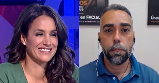 Begoña Villacís y Rubén Sánchez