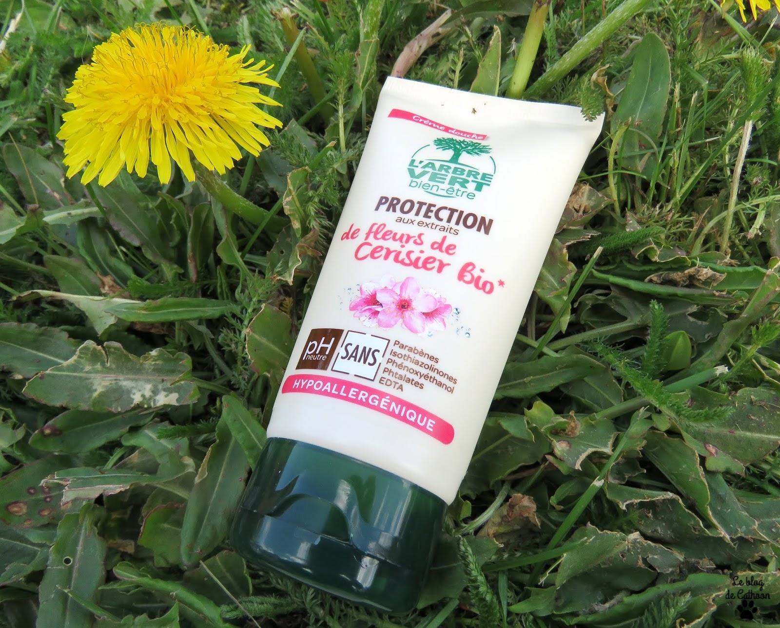Crème Douche Protection - Fleurs de Cerisier Bio