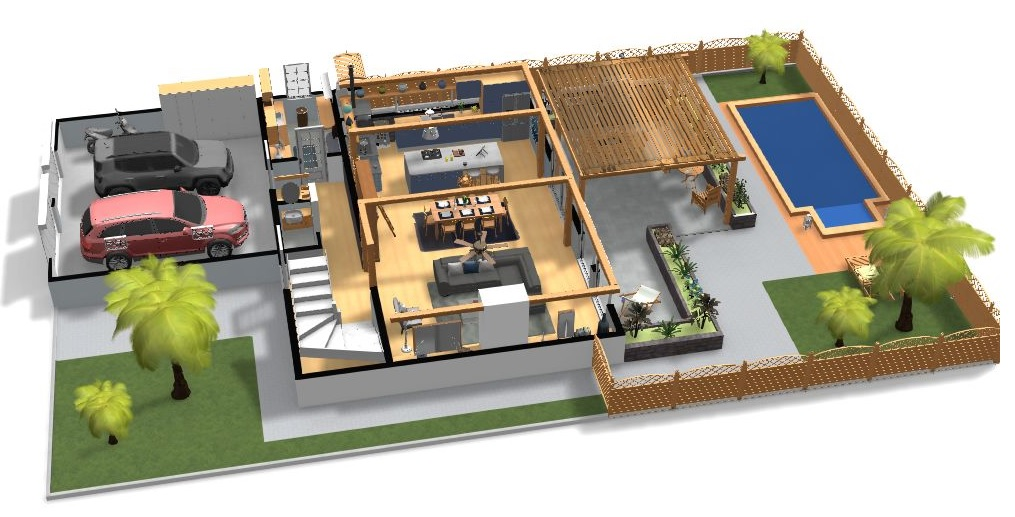 Home By Me Diseño Exterior De Casa