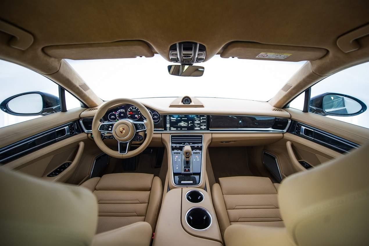 Porsche 2017 Interior Panamera Pre 231 Os E Especifica 245 Es Brasil