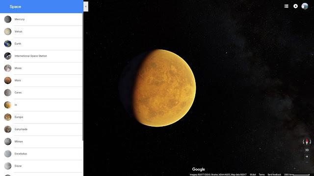 Bề mặt của Sao Kim, hành tinh nóng nhất Hệ Mặt Trời. Ảnh chụp màn hình.