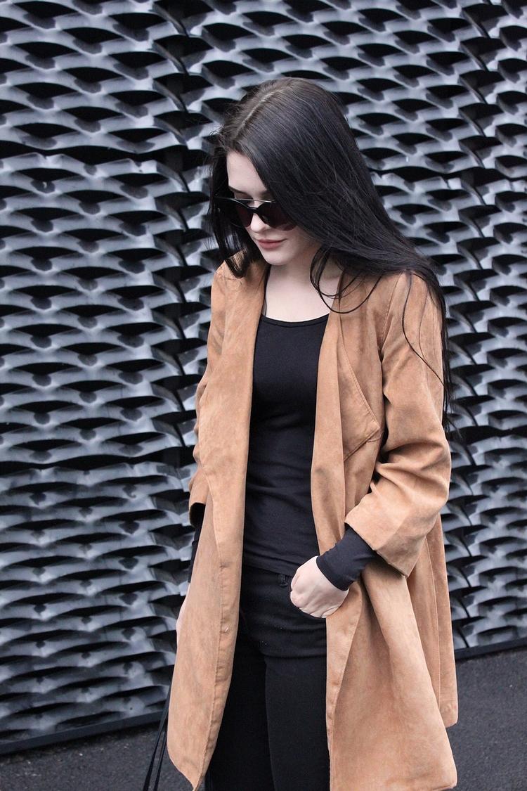 look l stylizacja l outfit l płaszcz