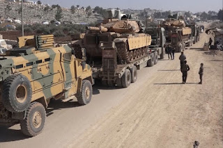 Pasukan Khusus Turki Menuju Idlib