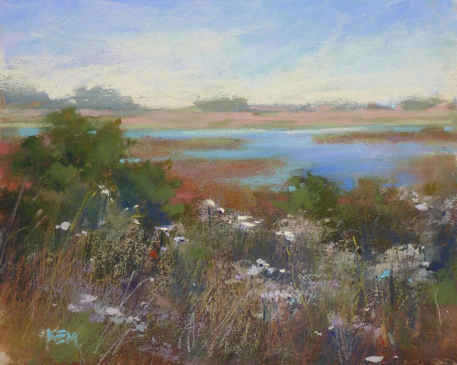 painting my world a tip for creating depth in a pastel painting