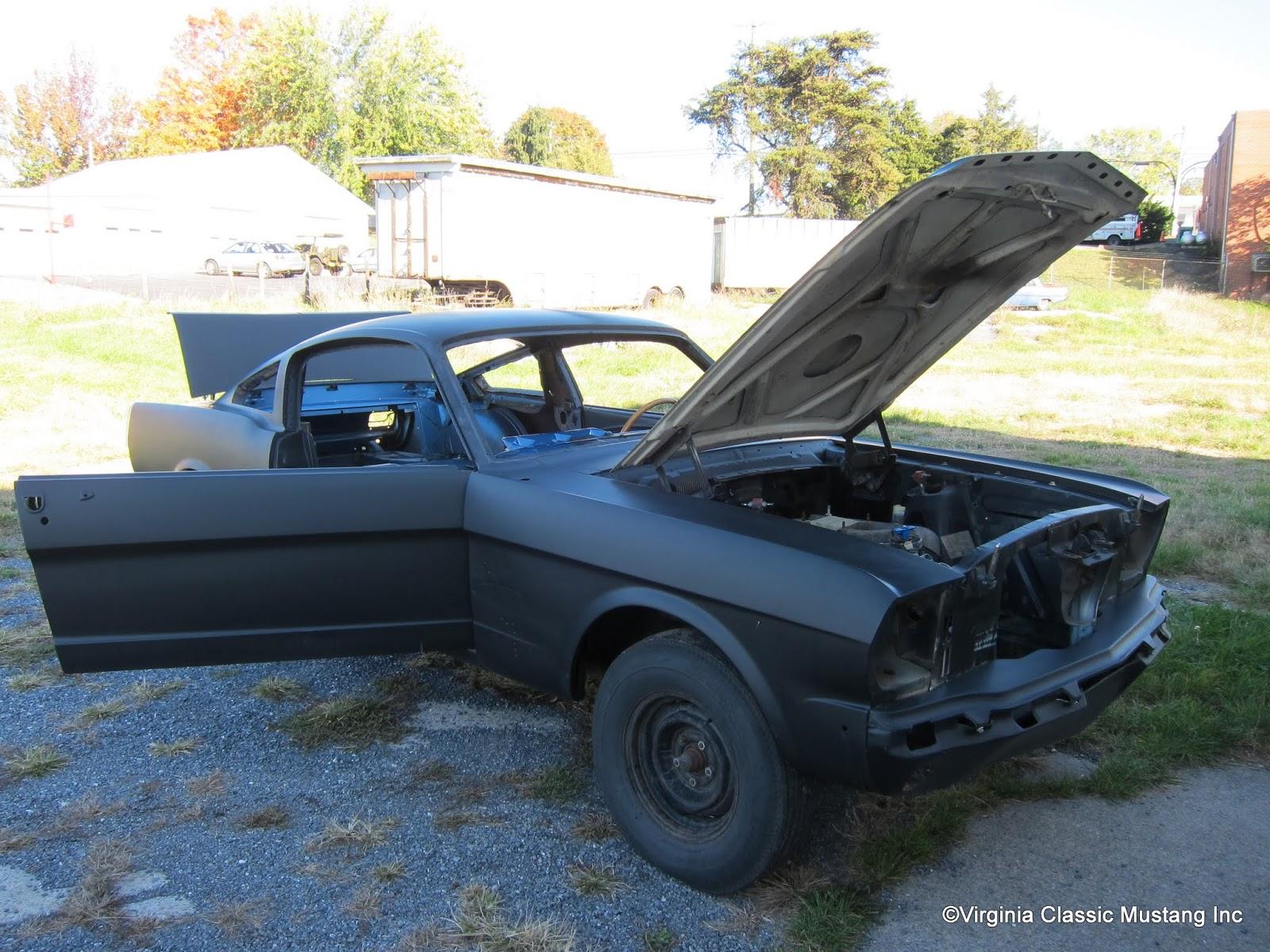 Virginia Clic Mustang Blog New Restoration Project 1966 Shelby Gt350