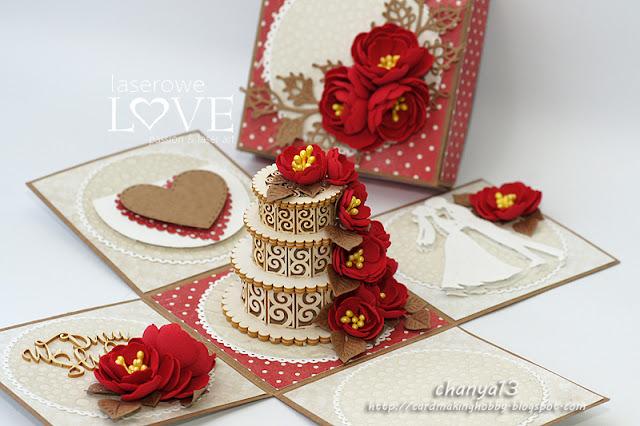 173. Ślubny box z tortem