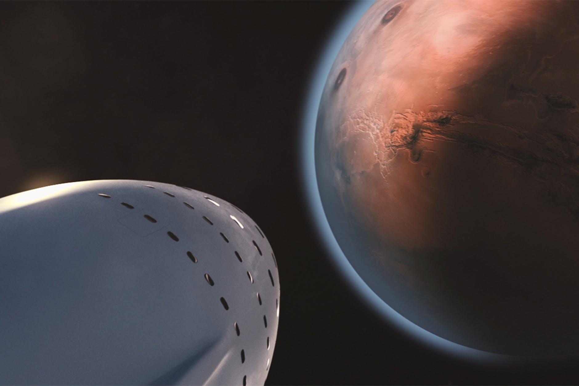 Pensez-vous que les drones sont la clé pour explorer Mars?