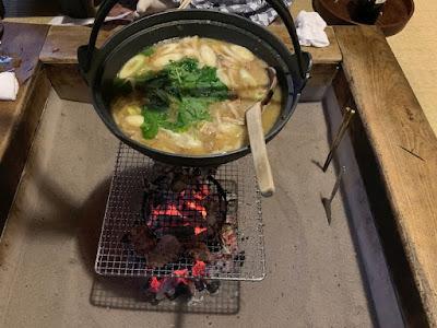 名物 山の芋鍋