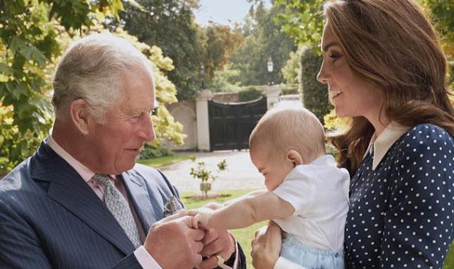 Nowe zdjęcie Louisa, Kate i księcia Karola!