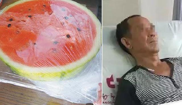 Semangka yang dimasukan dalam KULKAS bisa sebabkan usus membusuk