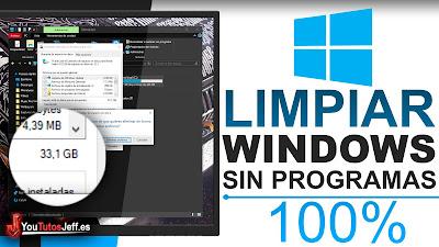 Como Acelerar y Limpiar Windows Sin Programas