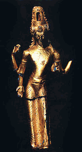 Arca emas Avalokiteçvara bergaya Malayu-Sriwijaya