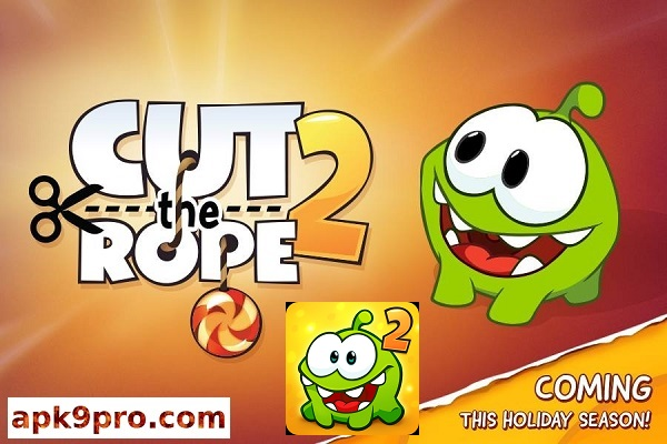 Cut the Rope 2 v1.26.0 APK + MOD (File size 54 MB) for Android