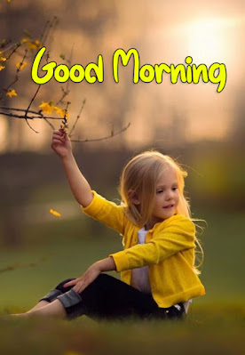 good morning indian baby girl images