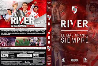 RIVER EL MAS GRANDE SIEMPRE 2019 [COVER – DVD]