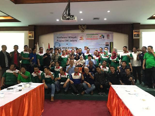 Panitia dan Peserta Konfrensi Wilayah Aspek Jawa barat 4 febuari 2020