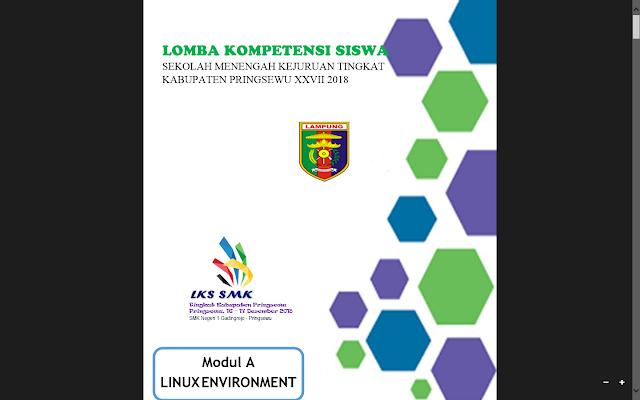 Soal LKS ITNSA Kabupaten Pringsewu 2018