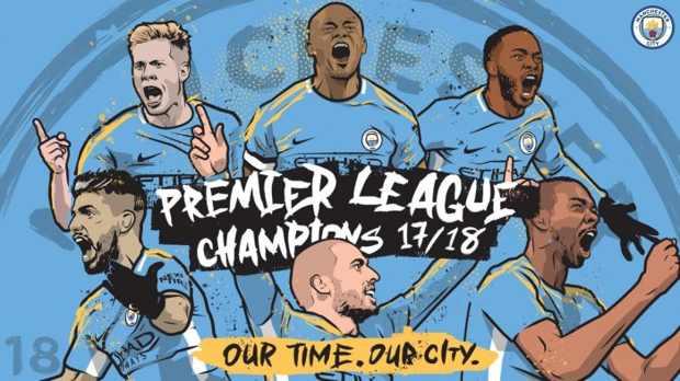 Manchester City Juara