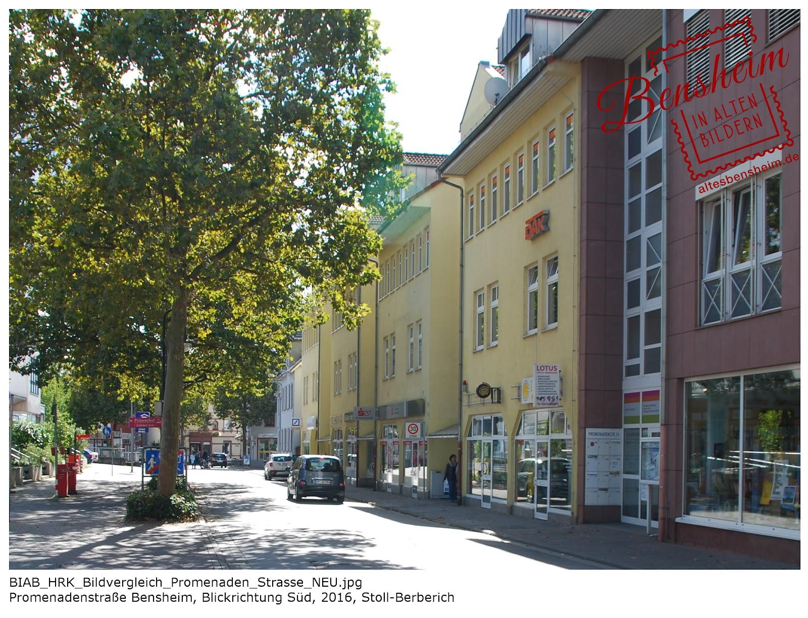 Promenadenstraße Bensheim, Stoll-Berberich 2016