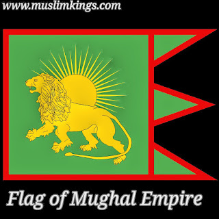 Flag of Mughal Empire