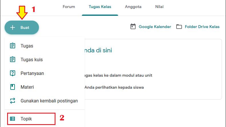 2 cara membuat absen di google