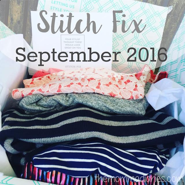 Stitch Fix September Box 2016, Stitch Fix, Stitch Fix September 2016