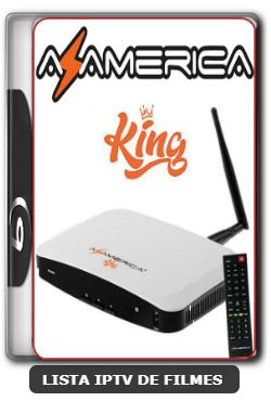 Azamerica King HD Nova Atualização Estabilidade de Conexão com os Serviços de SKS V1.33 - 24-06-2020