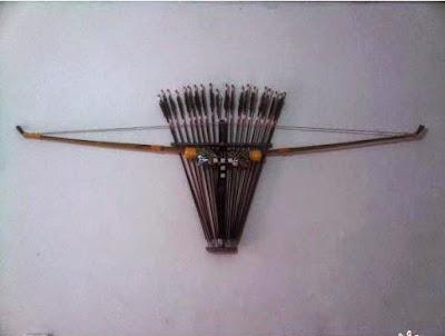 Provinsi Papua Barat - Senjata Tradisional :Busur dan Panah
