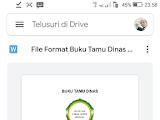 Cara Menyimpan File Secara Manual ke Google Drive