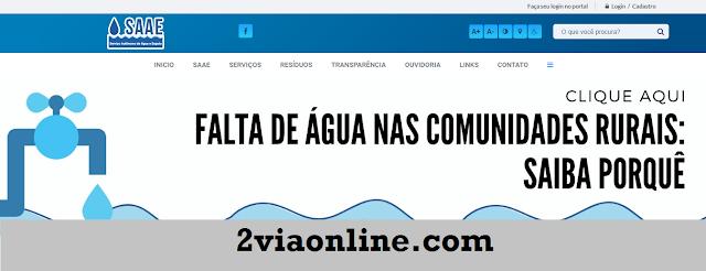 Segunda Via SAAE Itaúna
