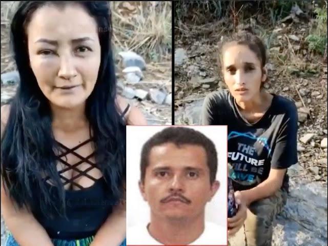"""Video: El CJNG con sus Sicarios captura a 2 mujeres y las interroga """"gracias señor Mencho por perdonaros la vida"""""""