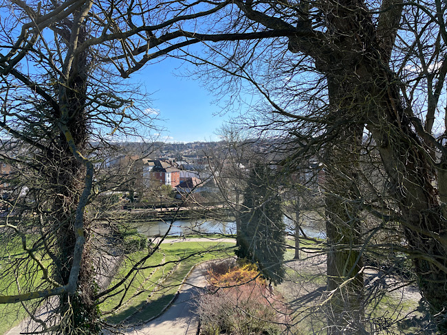 The View from Tonbridge Castle | Exploring Tonbridge Castle and Surrounds