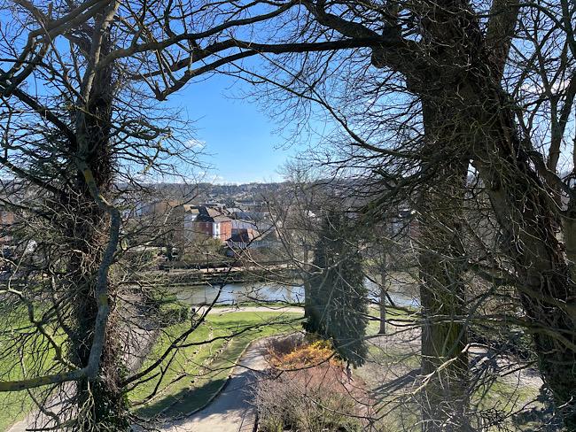The View from Tonbridge Castle | Exploring Tonbridge Castle and Surrounds