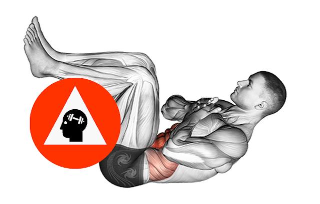 exercice musculation abdos crunchs jambe relevées