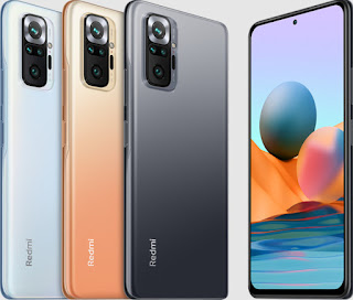 Redmi note 10 pro HP Android RAM 8 GB