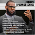 Lebron James opened a public school for at-risk kids with free tuition,free meals and bikes