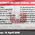 Jobs in Universiti Sultan Zainal Abidin (UniSZA) (21 April 2018)