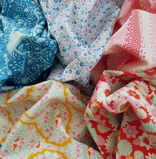 Tilda's new fabric collection - LemonTree