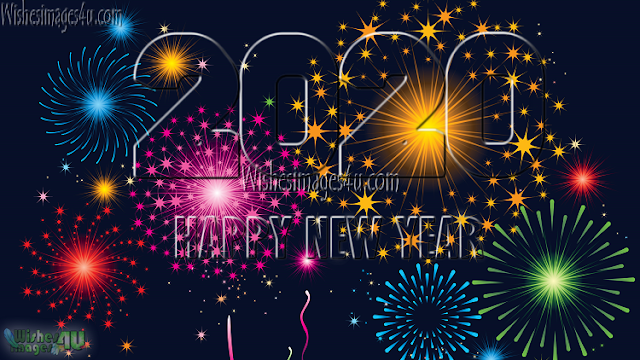 Happy New year 2020 Sparkling Pics Download Free For Whatsapp, Facebook