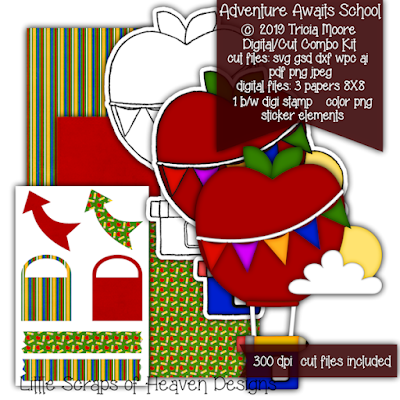 3 papers, color clipart, digi stamp, and sticker elements svg, gsd, dxf, wpc, ai, pdf, png, and jpeg